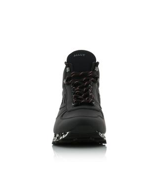 Gareth rubber coated leather high-top sneakers BALLY