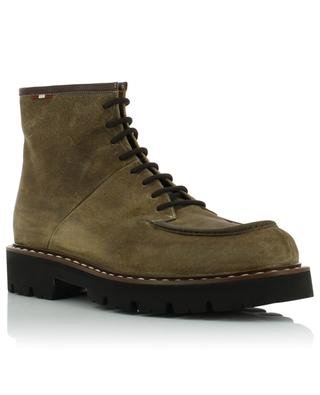 Lybern suede lace-up boots BALLY