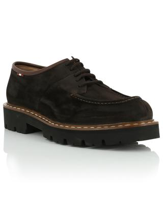 Lyndon suede lace-up derby shoes BALLY
