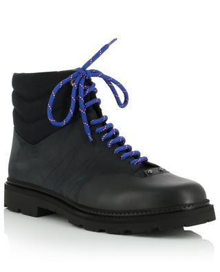 Zeber nubuck and leather lace-up boots BALLY