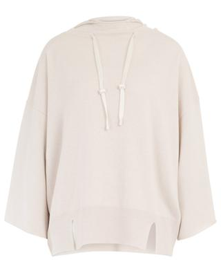 Loose hooded cashmere jumper FABIANA FILIPPI
