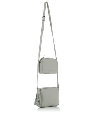 Noemi double grained leather cross-body bag FABIANA FILIPPI