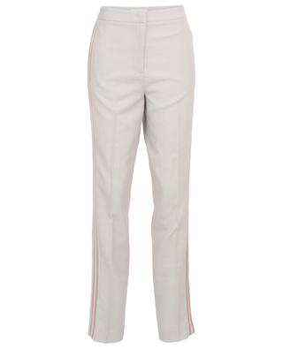 Lightweight tapered trousers with side bands FABIANA FILIPPI