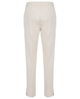 Cropped stretch jersey trousers FABIANA FILIPPI