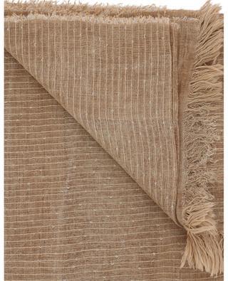 Étole en lin et coton mélangés à pailettes FABIANA FILIPPI