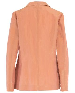 Loose iridescent cotton poplin blazer FABIANA FILIPPI