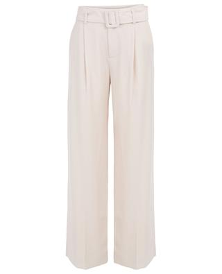 Crepe wide leg tailored trousers VINCE