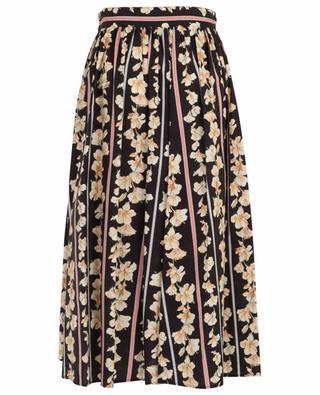 Guadaloupe floral A-line midi skirt FORTE FORTE