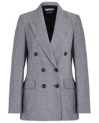 Linya double-breasted houndstooth check blazer ISABEL MARANT