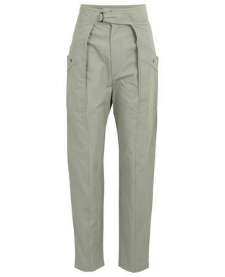 Zayna cotton cargo spirit trousers ISABEL MARANT ETOILE