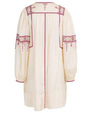 Toscaline mid-length embroidered silk dress ISABEL MARANT
