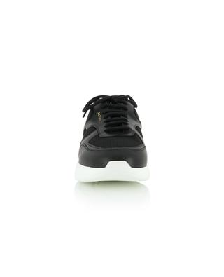 Genesis black mesh and leather sneakers AXEL ARIGATO