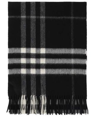 Giant Check cashmere scarf BURBERRY