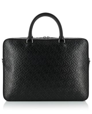 Monogram leather briefcase BURBERRY