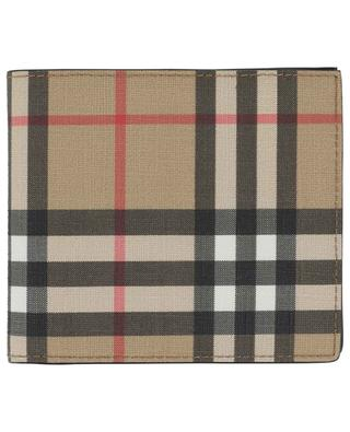 Vintage Check leather wallet BURBERRY