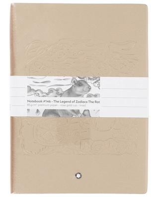 #146 The Legends of Zodiac, The Rat golden note book MONTBLANC