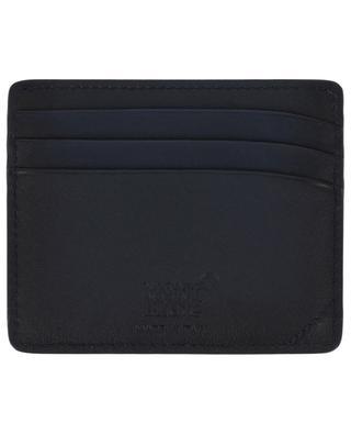 Meisterstück Sfumato 6CC leather cardholder MONTBLANC
