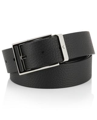 Casual grained leather belt MONTBLANC