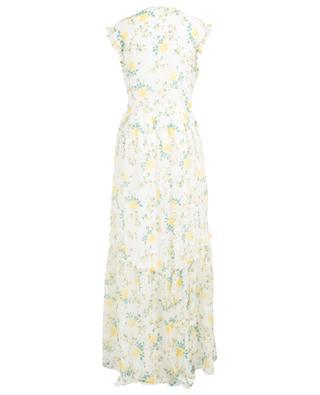 Rose Garden sleeveles printed long dress PHILOSOPHY