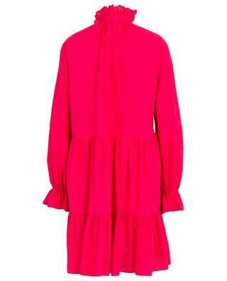 Openwork ruffled poplin cotton dress PHILOSOPHY
