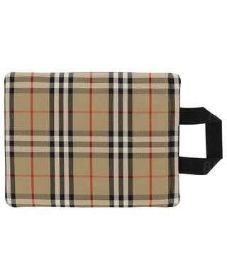 Vintage Check zippered nylon pouch BURBERRY