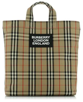 Shopper aus Stoff Vintage Check Artie BURBERRY