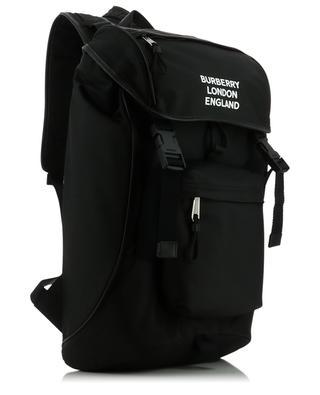 Rucksack aus Nylon und Leder mit Logoprint Rocky BURBERRY