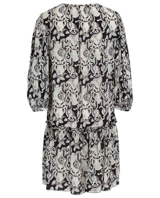 Her printed short dress with peplum SEE BY CHLOE