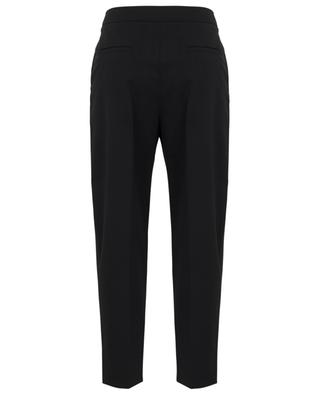 Tapered cropped high-rise twill trousers SEE BY CHLOE