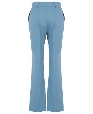 Flared wool blend twill trousers SEE BY CHLOE