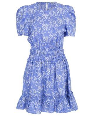 Urchin Waves floral viscose and silk blend dress KENZO