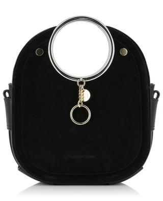 Mara leather and suede handbag with ring handles SEE BY CHLOE