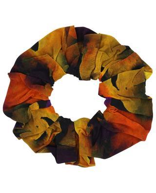 Floral print elastic hairband GANNI