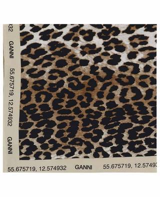 Seidentuch mit Leopardenprint GANNI