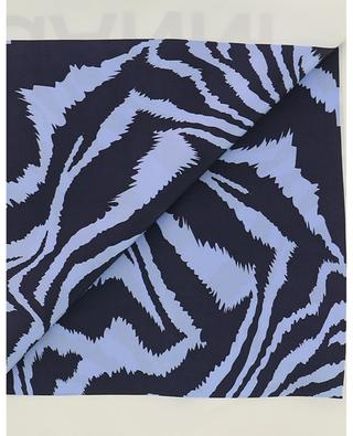 Tiger print silk square GANNI
