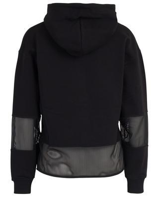 Sweatshirt aus Baumwolle mit Mesh-Einsatz KENZO