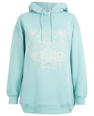 Tiger Lurex embroidered oversize sweatshirt KENZO