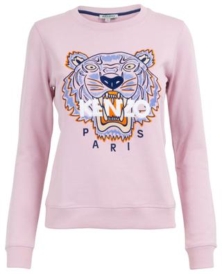 Classic Tiger embroidered cotton sweatshirt KENZO