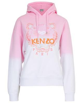 Tiger colour gradient cotton sweatshirt KENZO