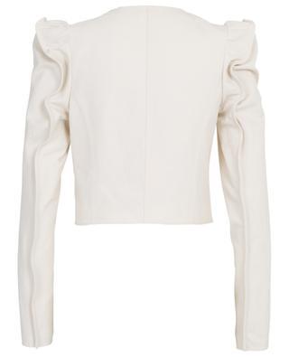 Kurze Jacke aus Baumwoll- und Leinenmix KENZO