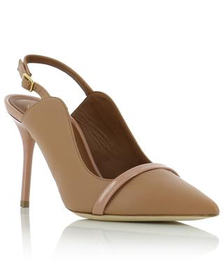 Marion 85 pumps in nappa and patent leather MALONE SOULIERS