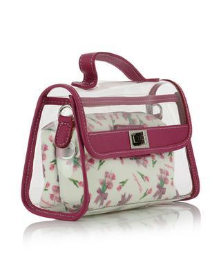 PVC and floral fabric bag MONNALISA
