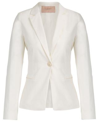 Single-breasted blazer with back lacing TWINSET