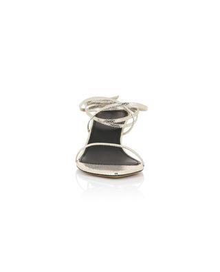 Sandales à talon en cuir métallisé effet lézard Aridee ISABEL MARANT