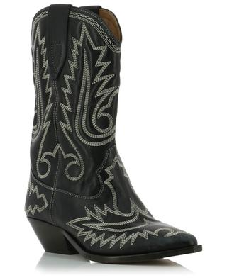 Duerto cowboy spirit embroidered booties ISABEL MARANT