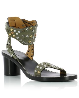 Jaleo 50 heeled studded suede sandals ISABEL MARANT