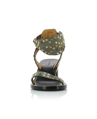 Jaleo 50 heeled studded suede sandals ISABEL MARANT