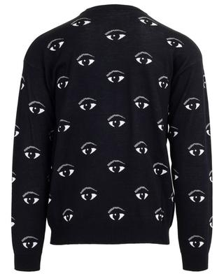 Pull jacquard fin All Over Eyes KENZO