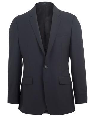 Single-breasted wool stretch slim fit blazer KENZO