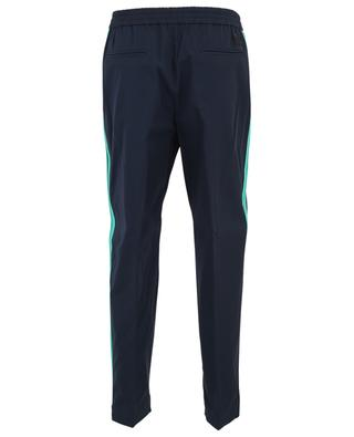 Cotton straight trousers with contrasting bands KENZO